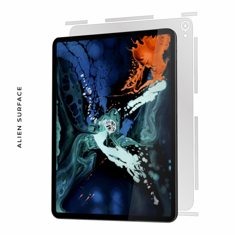 Apple iPad Pro 12.9 inch (2018) folie protectie Alien Surface
