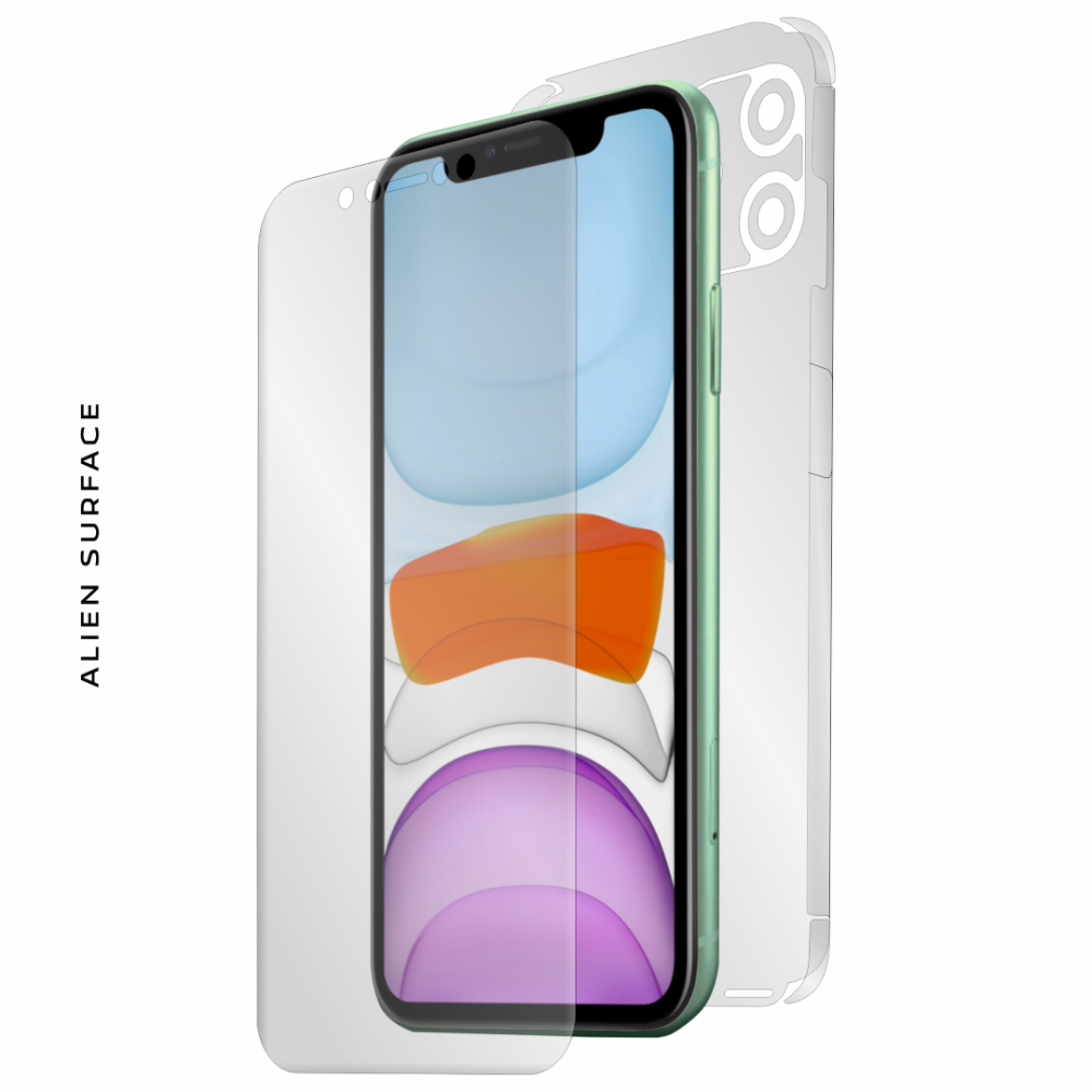 Apple iPhone 11 folie protectie Alien Surface