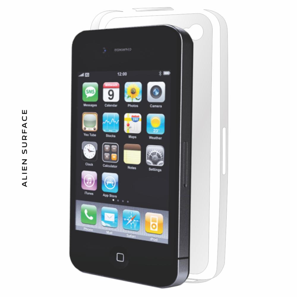 Apple iPhone 4/4S folie protectie Alien Surface