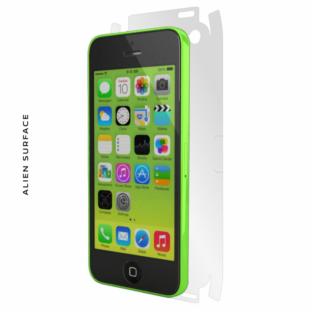 Apple iPhone 5C folie protectie Alien Surface