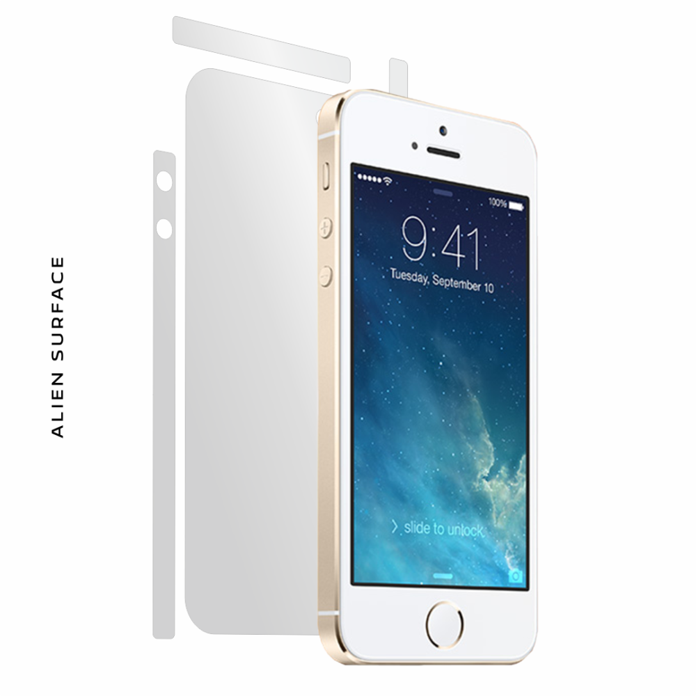 Apple iPhone 5S folie protectie Alien Surface