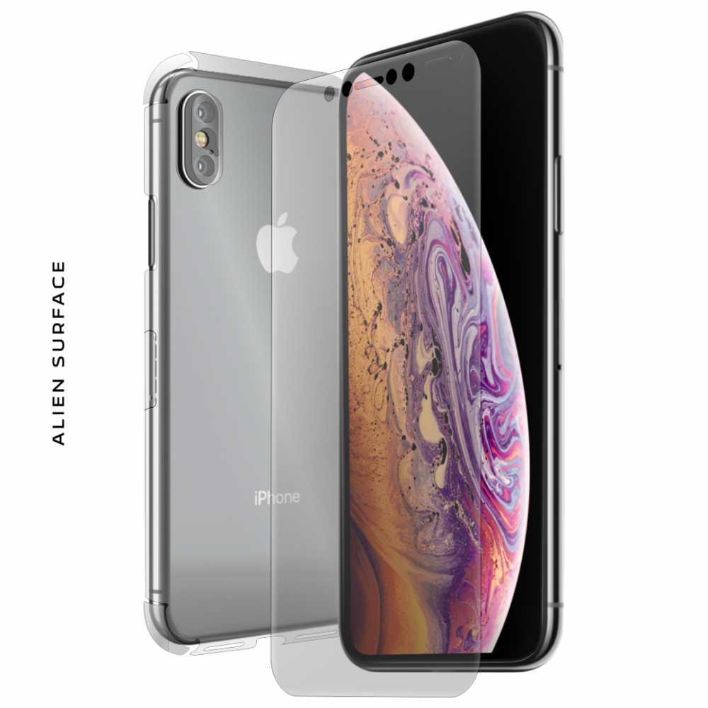 Apple iPhone XS Max folie protectie Alien Surface