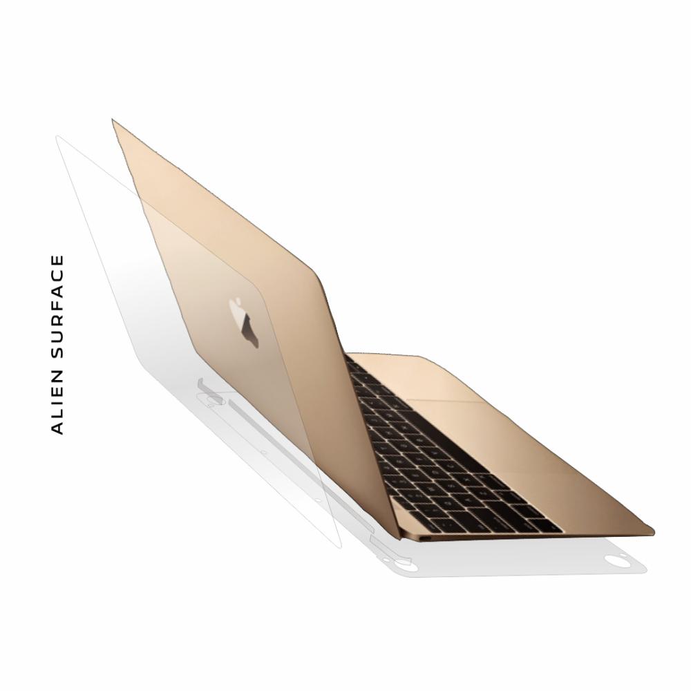 Apple MacBook 12 inch folie protectie Alien Surface