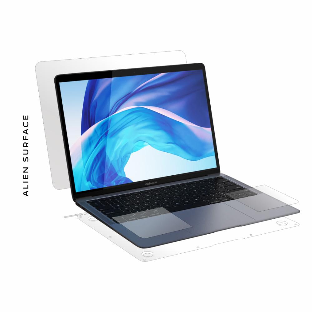 Apple MacBook Air 13 inch (2018) folie protectie Alien Surface