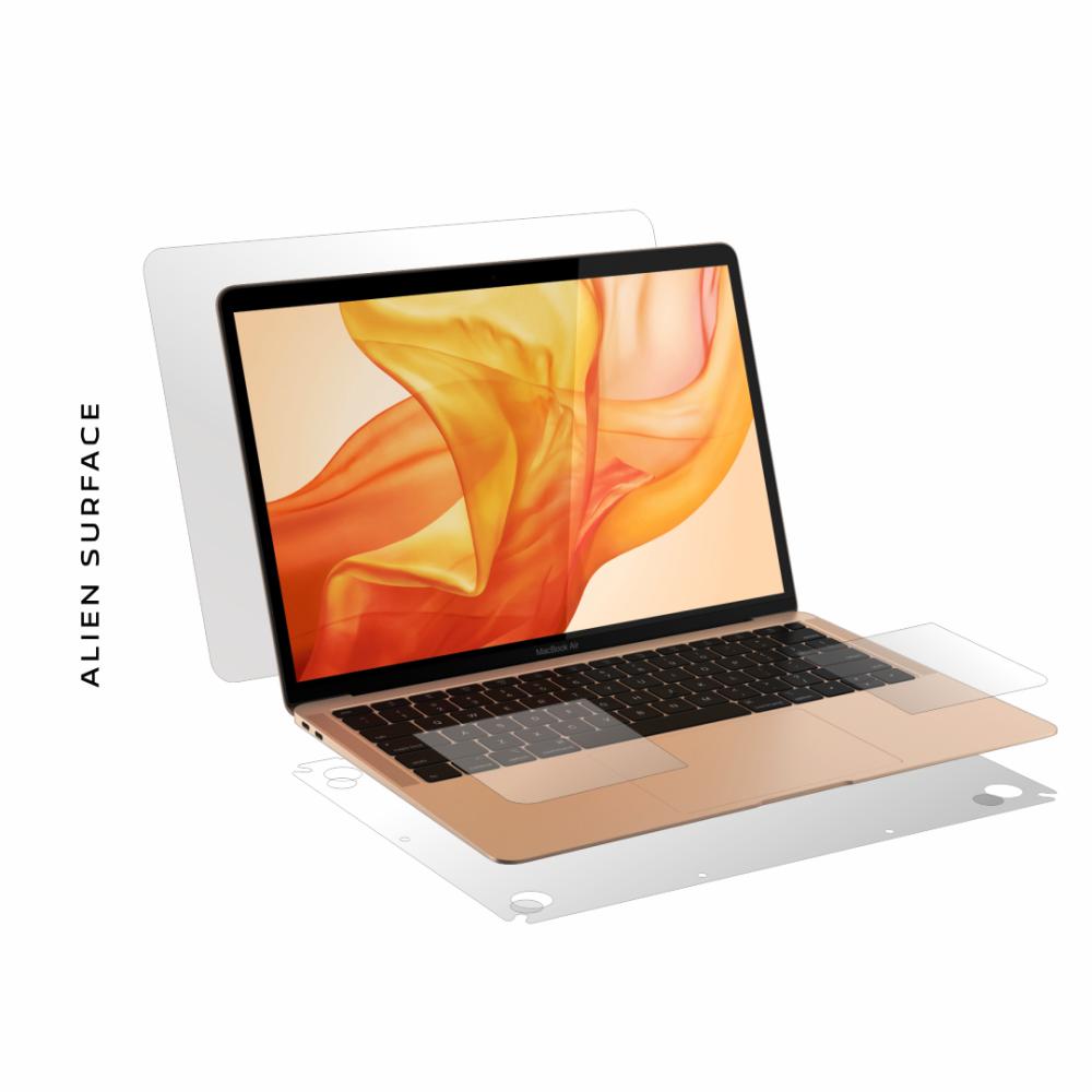 Apple MacBook Air 13 inch (Late 2018, 2019) folie protectie Alien Surface