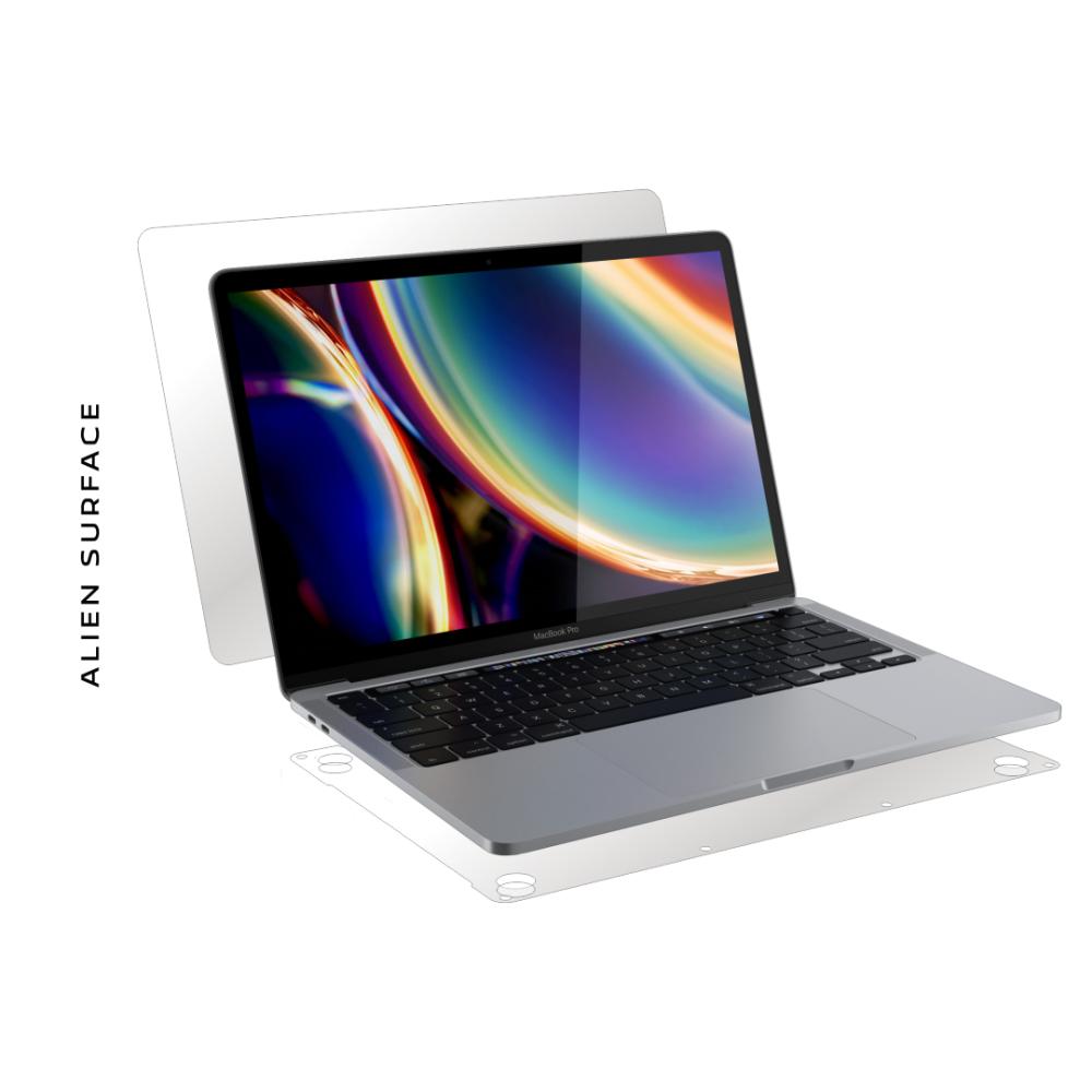 Apple MacBook Pro 13 inch Touch Bar (2020) folie protectie Alien Surface