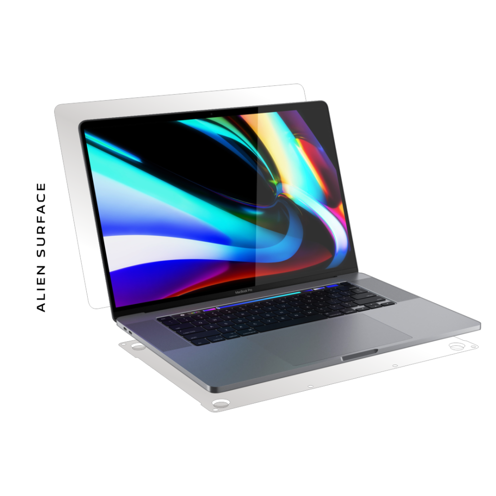 Apple MacBook Pro 16 inch (2019) folie protectie Alien Surface