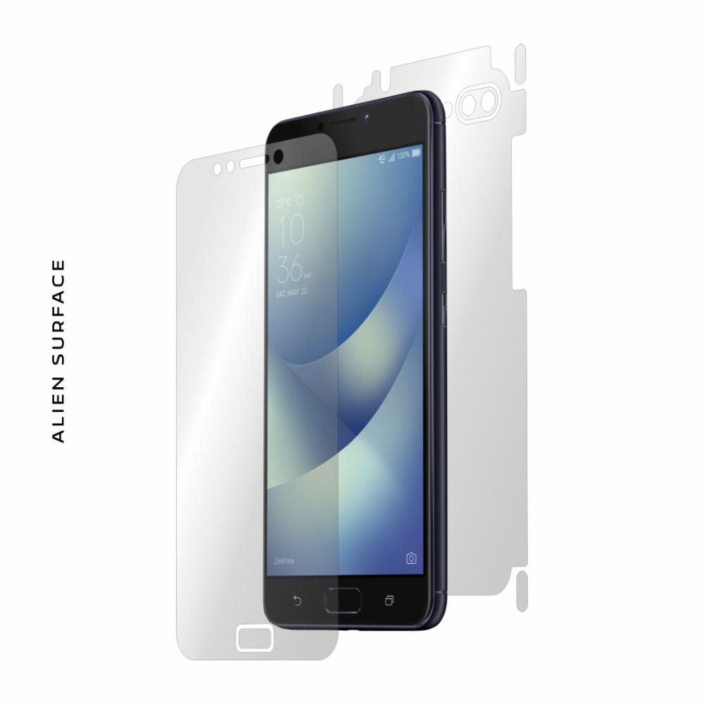 Asus ZenFone 4 Max ZC520KL folie protectie Alien Surface