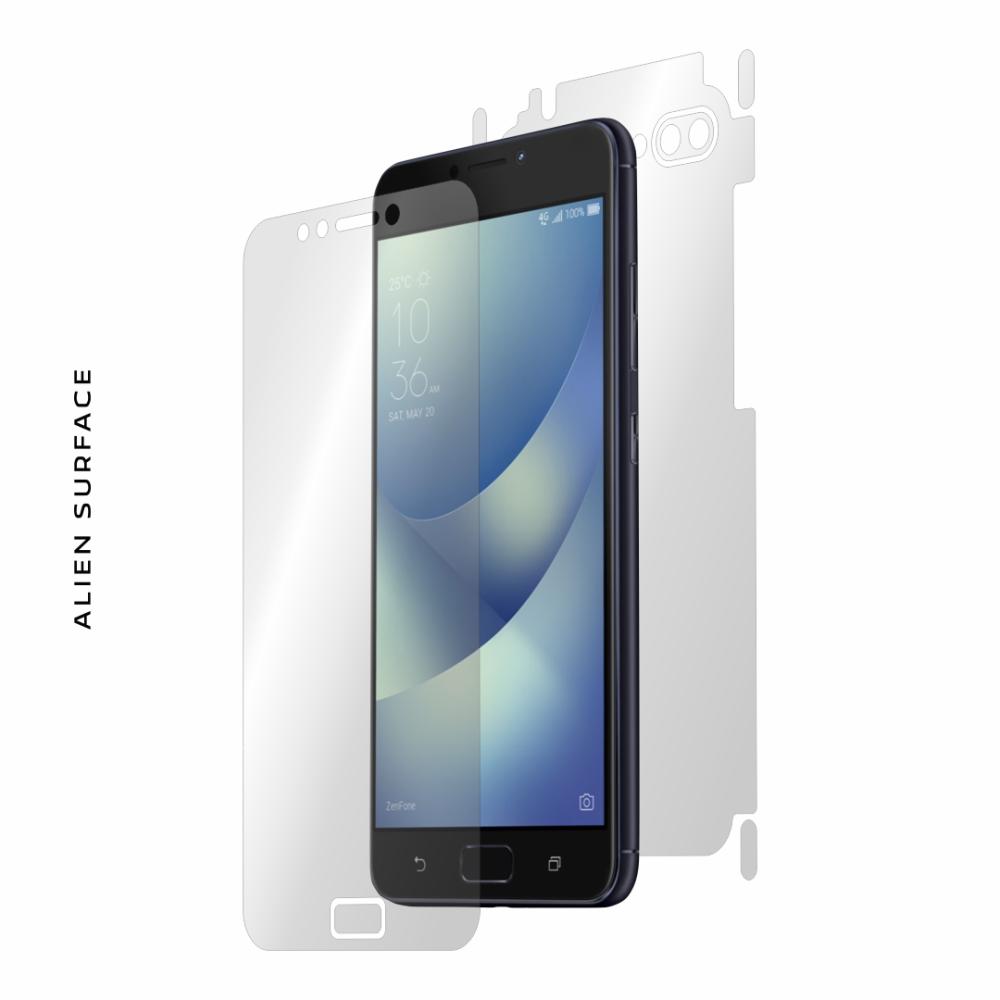 Asus ZenFone 4 Max ZC554KL folie protectie Alien Surface