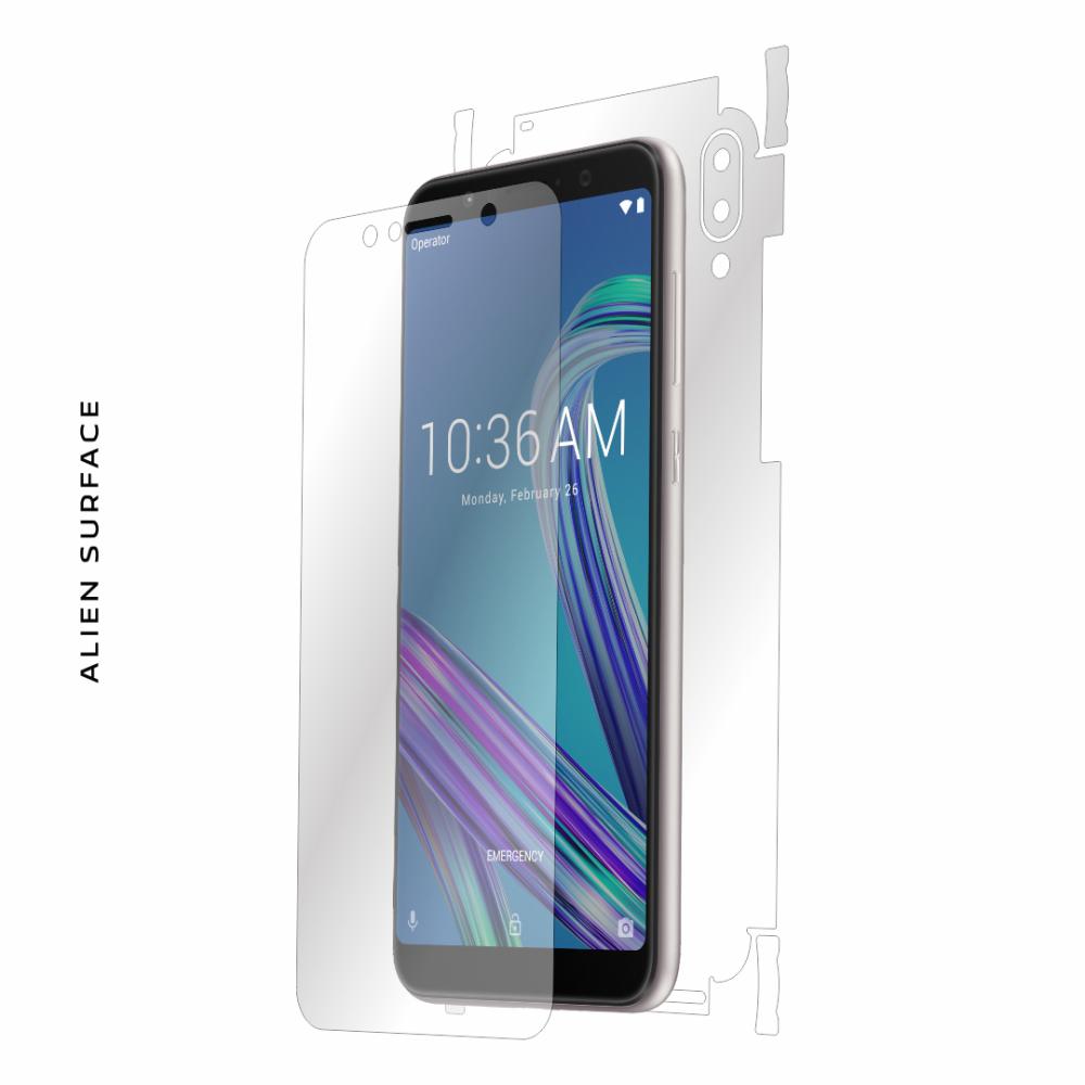 Asus Zenfone Max Pro (M1) ZB601KL / ZB602K folie protectie Alien Surface