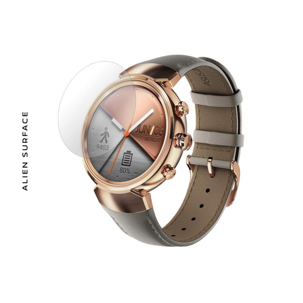 Asus Zenwatch 3 WI503Q folie protectie Alien Surface