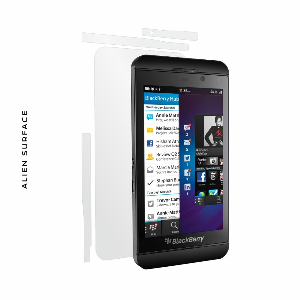BlackBerry Z10  folie protectie Alien Surface