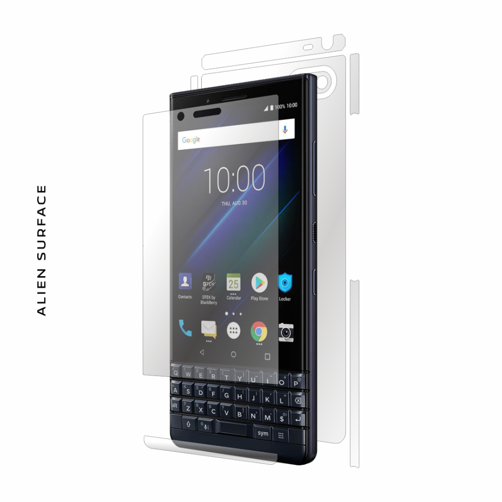 BlackBerry KEY2 LE folie protectie Alien Surface
