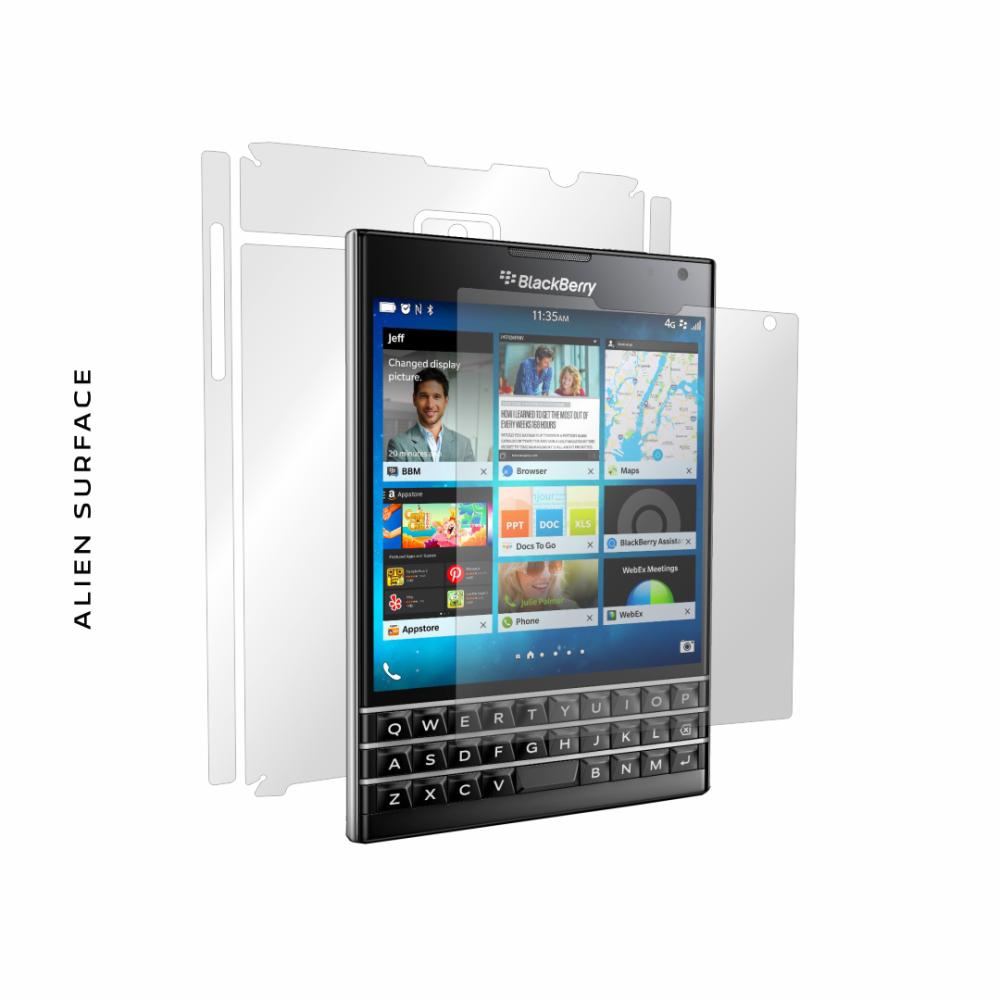 BlackBerry Passport folie protectie Alien Surface