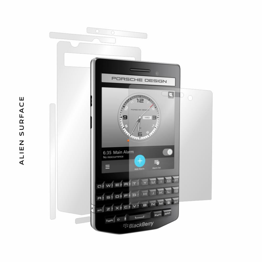BlackBerry Porsche Design P9983 folie protectie Alien Surface