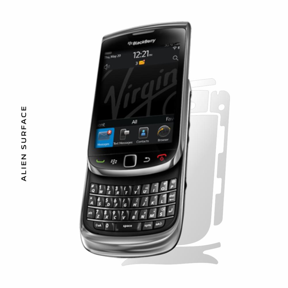 BlackBerry Torch 9800 folie protectie Alien Surface