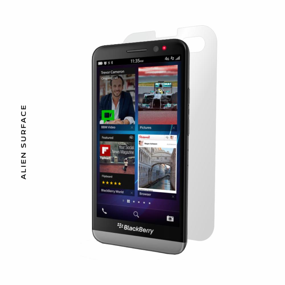BlackBerry Z30 folie protectie Alien Surface