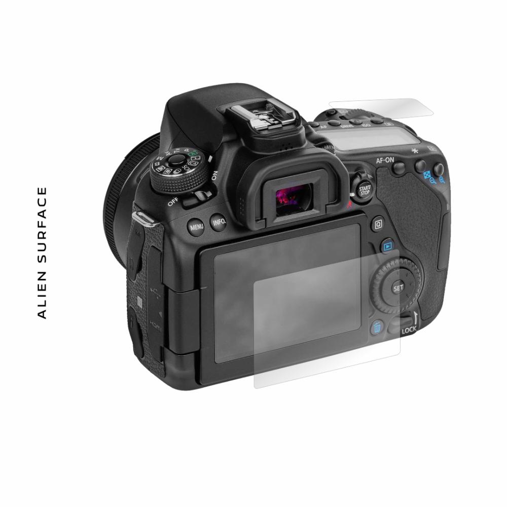 Canon EOS 80D folie protectie Alien Surface