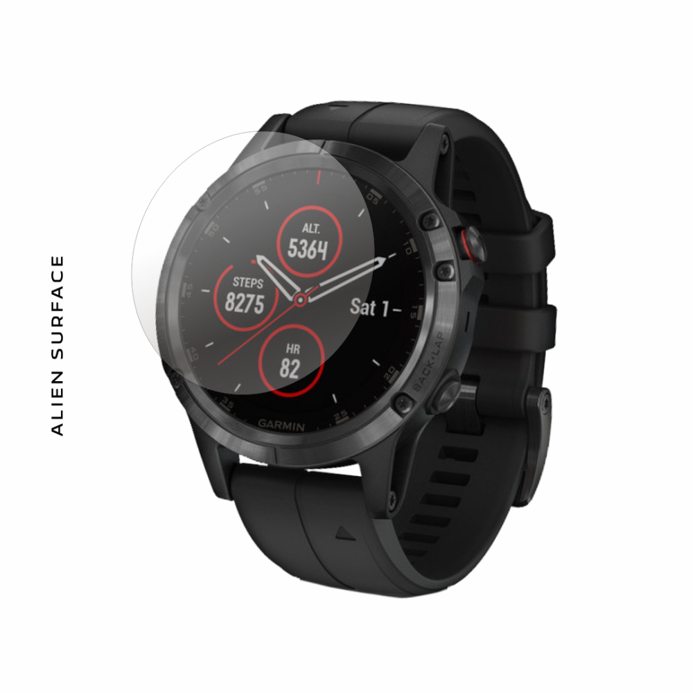 Garmin Fenix 5 Plus folie protectie Alien Surface