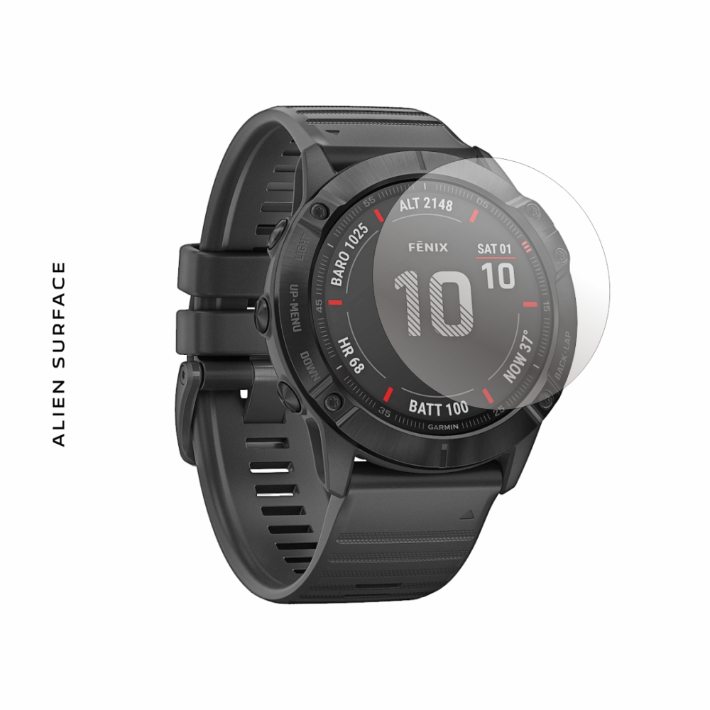 Garmin Fenix 6x (6x Pro) 51mm folie protectie Alien Surface