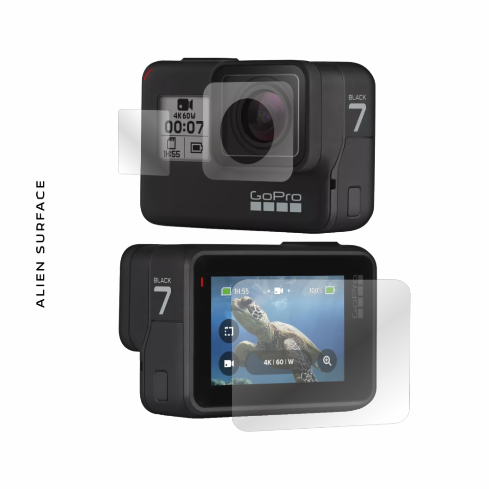 GoPro Hero 7 Black folie protectie Alien Surface