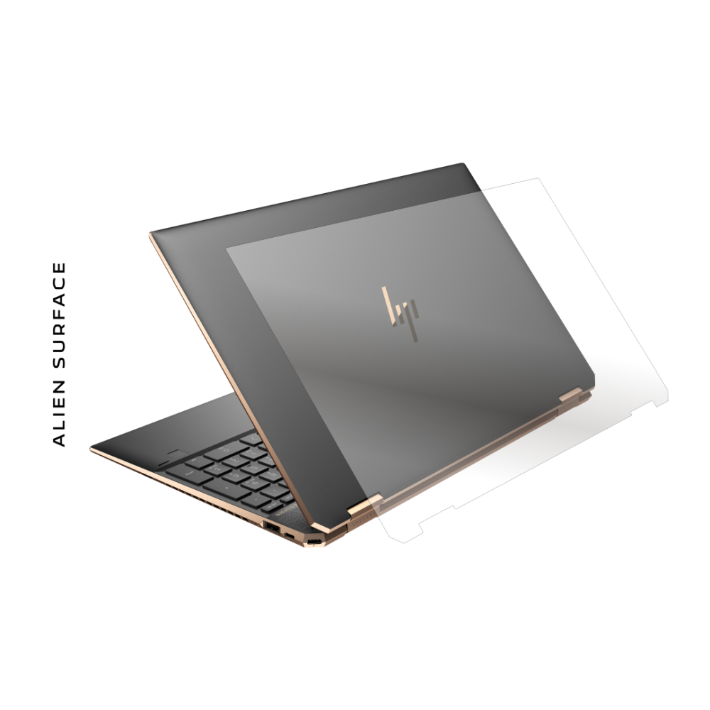 HP Spectre X360 15 inch folie protectie Alien Surface