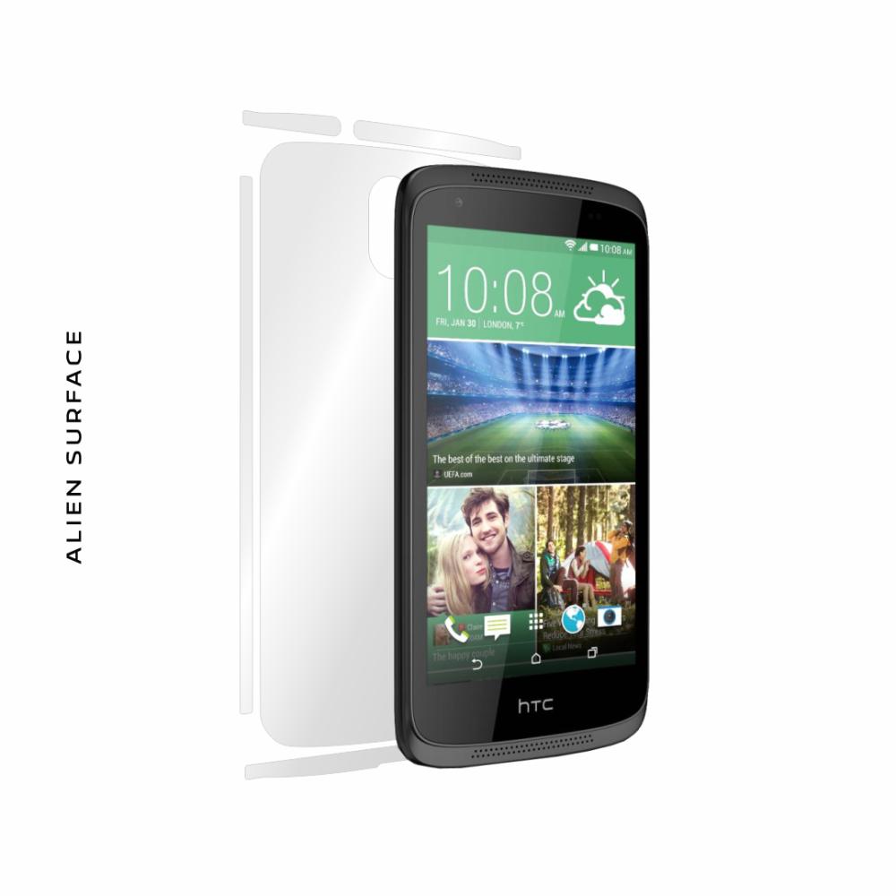 HTC Desire 526G Dual Sim folie protectie Alien Surface