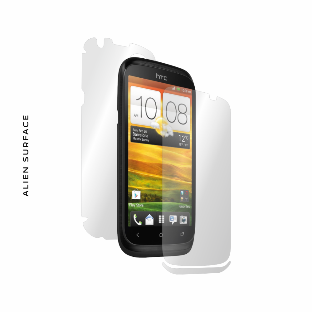 HTC Desire X folie protectie Alien Surface
