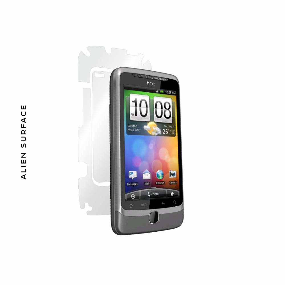 HTC Google G2 / HTC Desire Z folie protectie Alien Surface