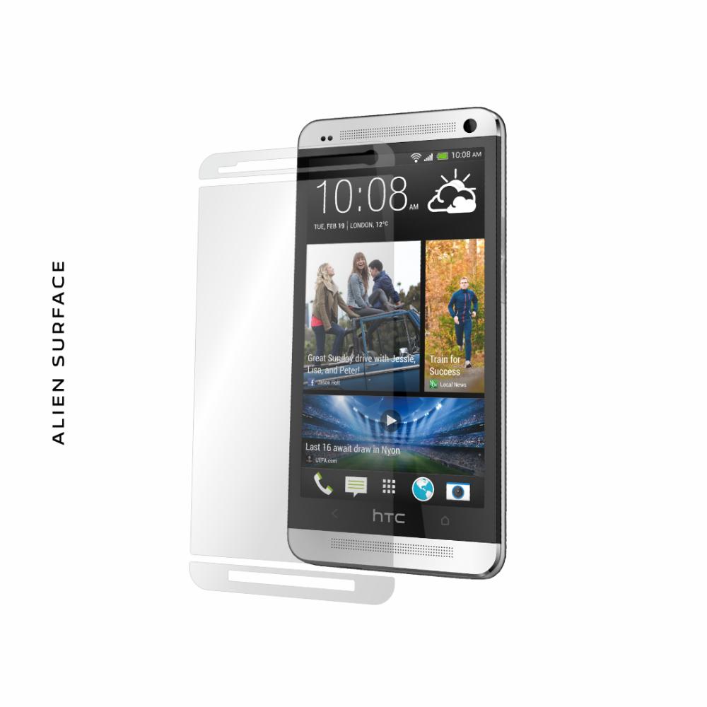 HTC One folie protectie Alien Surface