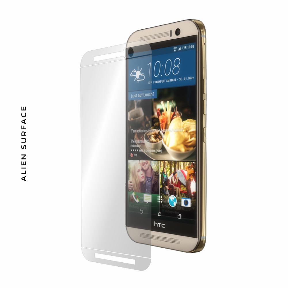 HTC One M9 folie protectie Alien Surface