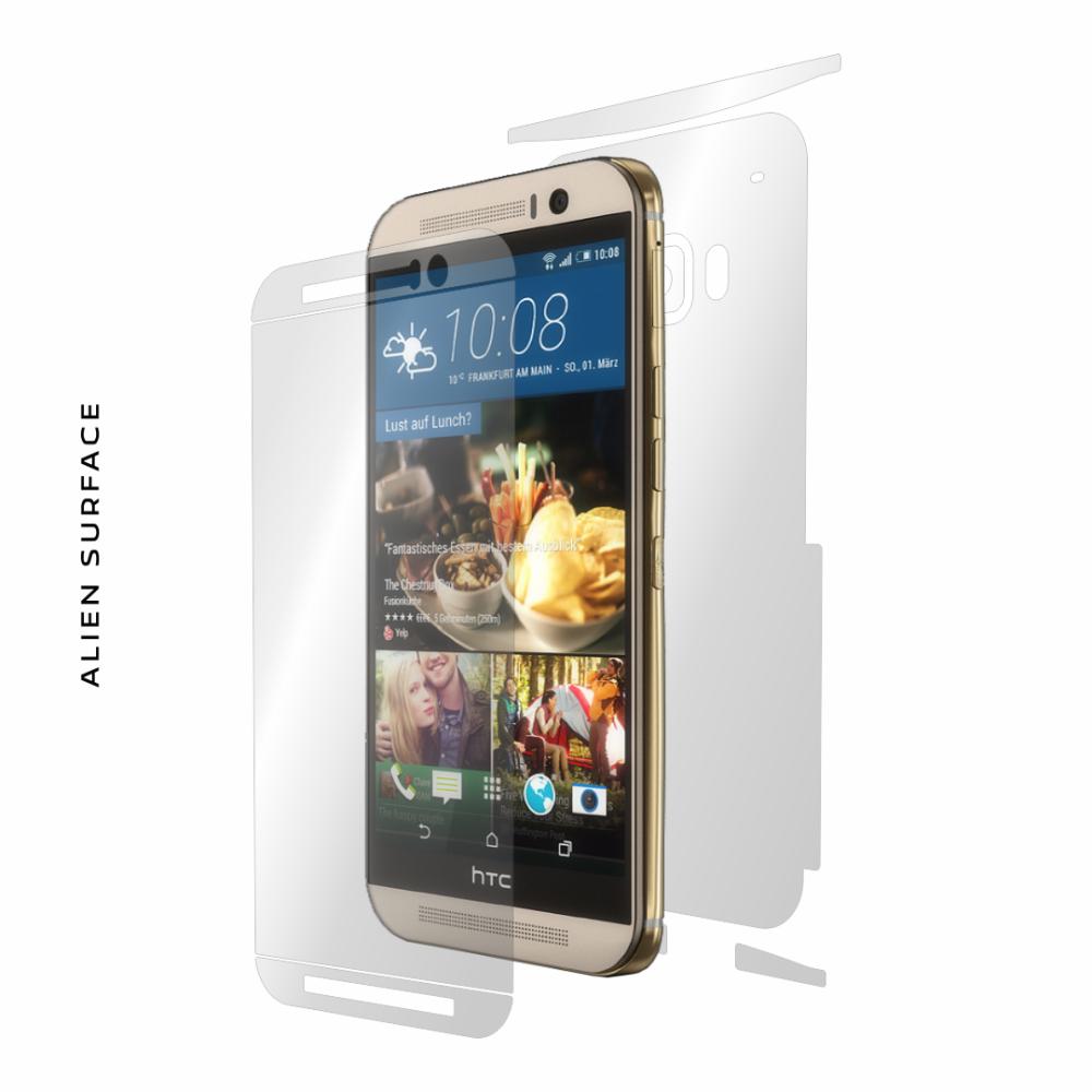 HTC One M9 Prime Camera folie protectie Alien Surface