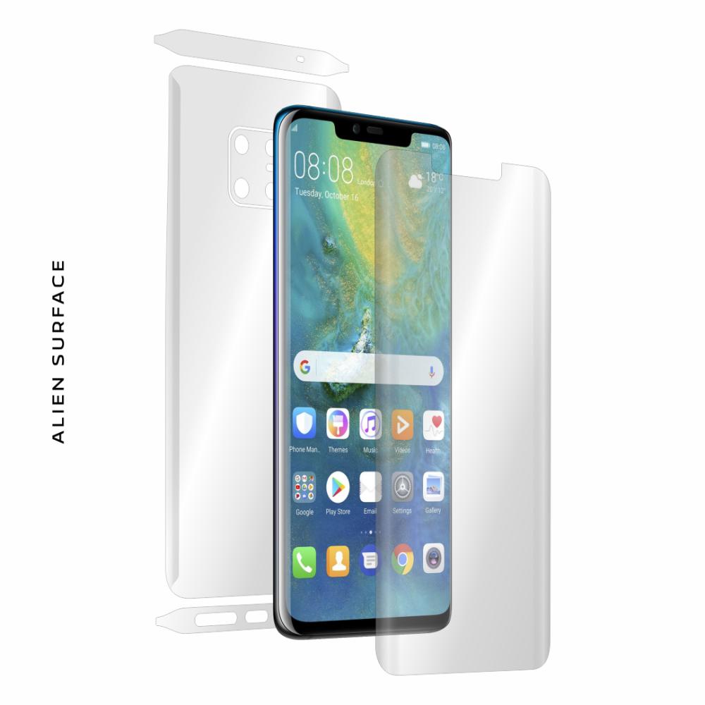 Huawei Mate 20 Pro folie protectie Alien Surface