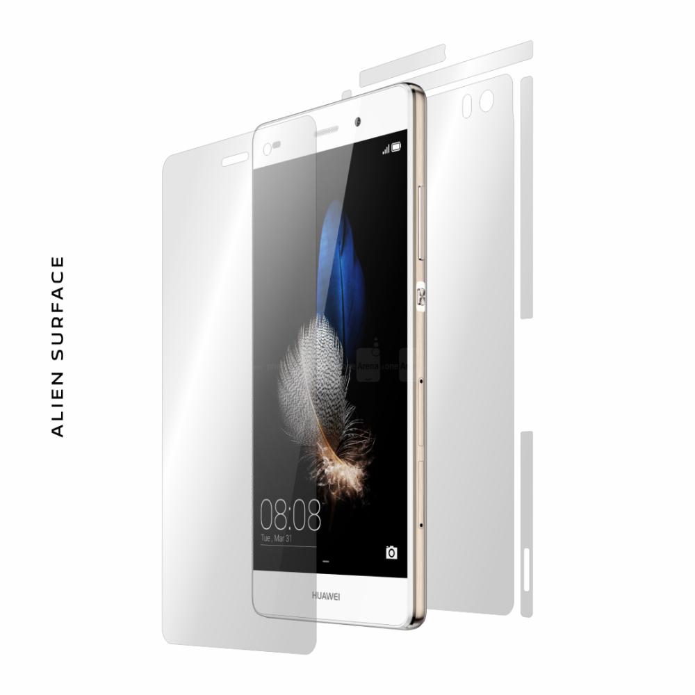 Huawei P8 Lite folie protectie Alien Surface
