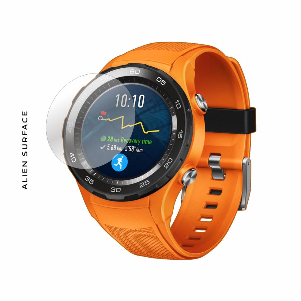 Huawei Watch 2 Dynamic Orange folie protectie Alien Surface