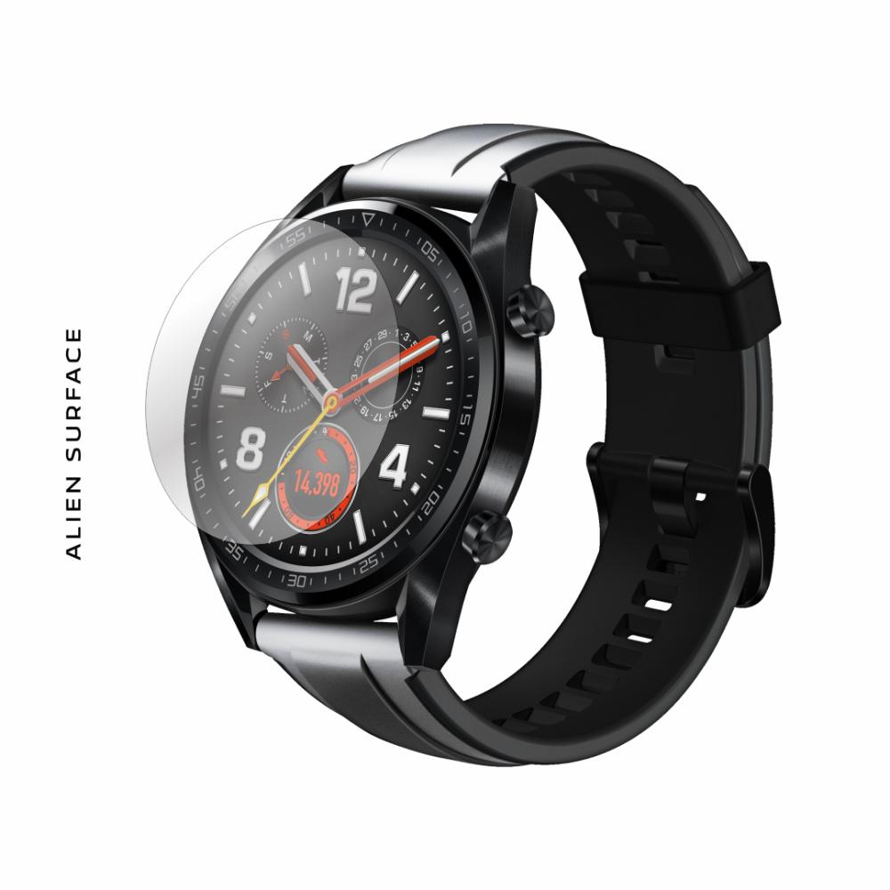 Huawei Watch GT 46mm Glacier Grey folie protectie Alien Surface