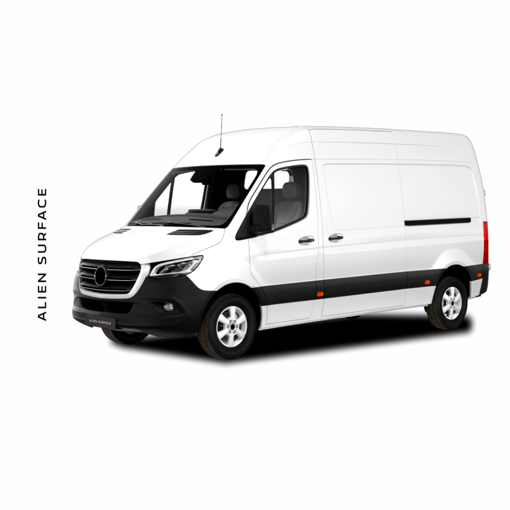 Mercedes Benz Sprinter 2020 folie protectie Alien Surface