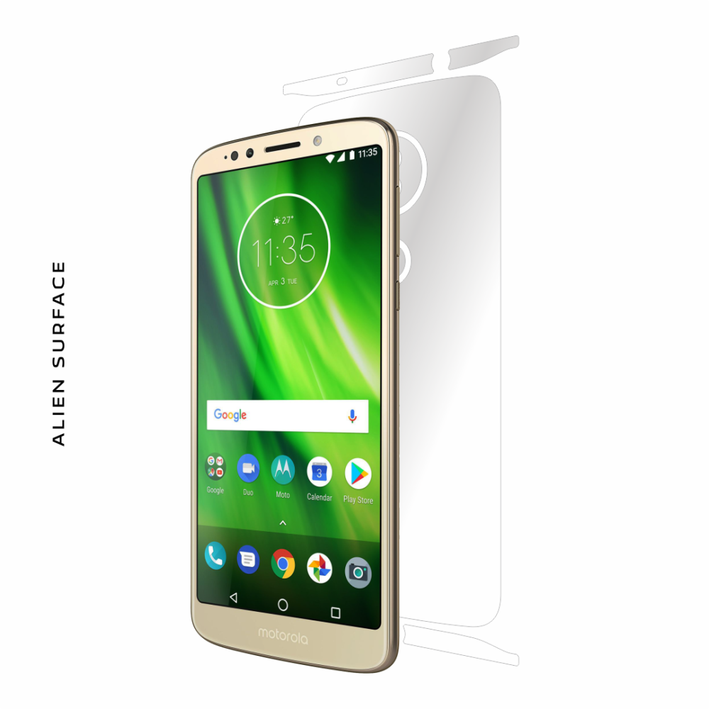 Motorola Moto G6 Play folie protectie Alien Surface