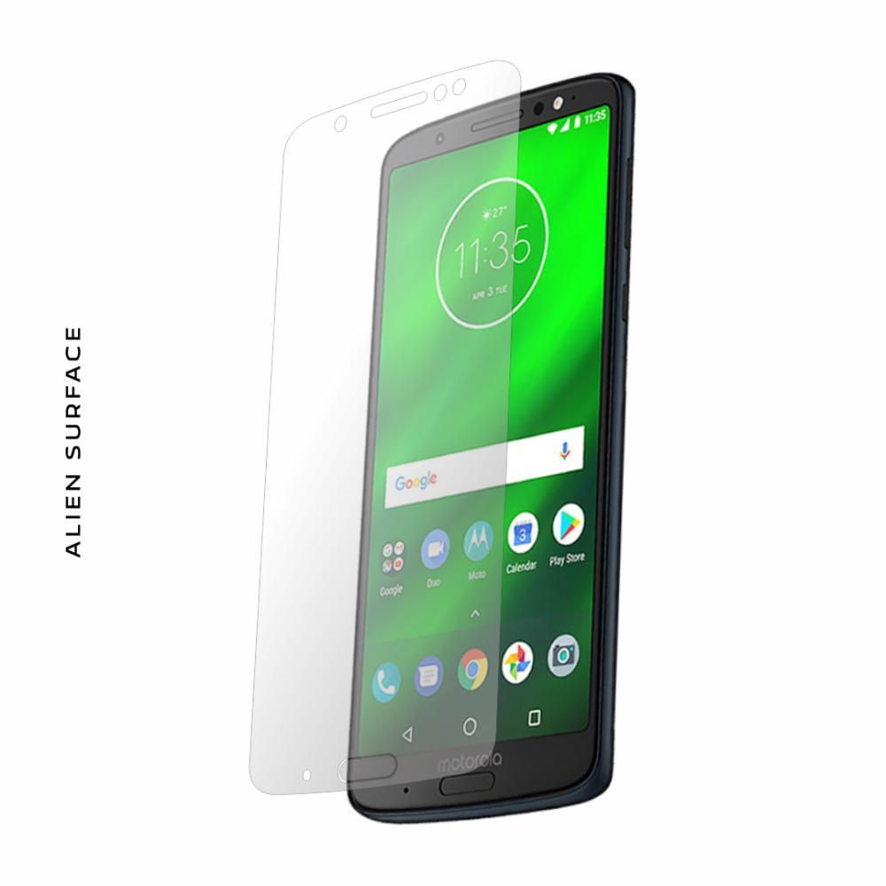 Motorola Moto G6 Plus folie protectie Alien Surface