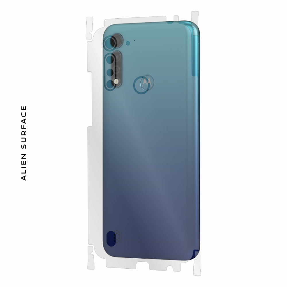 Motorola Moto G8 Power Lite folie protectie Alien Surface