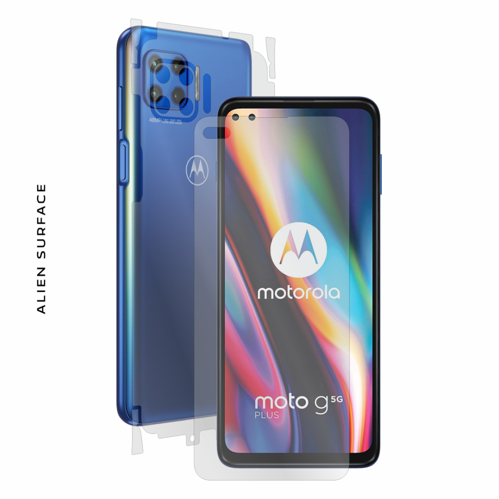 Motorola Moto G 5G Plus folie protectie Alien Surface