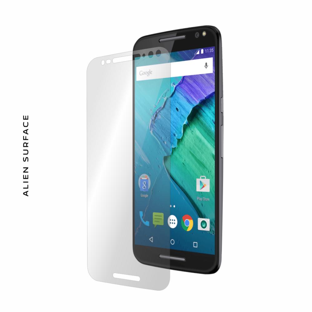 Motorola Moto X Style folie protectie Alien Surface