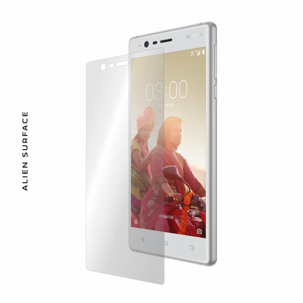 Nokia 3 folie protectie Alien Surface