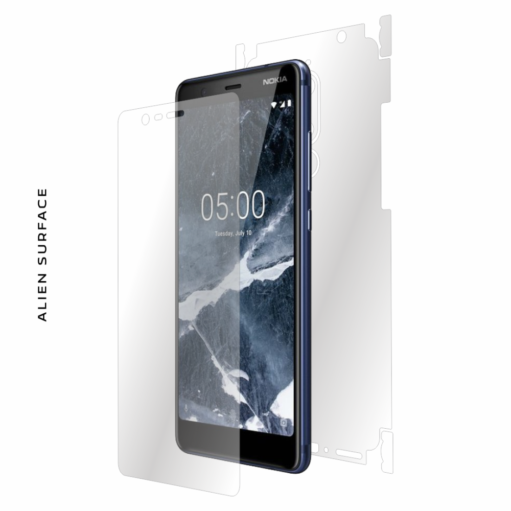 Nokia 5.1 (2018) folie protectie Alien Surface