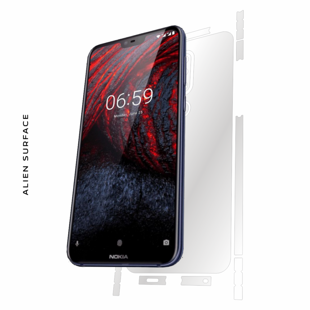 Nokia 6.1 Plus (2018) folie protectie Alien Surface