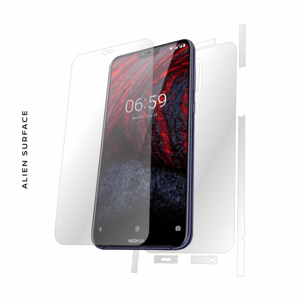Nokia X6 (2018) folie protectie Alien Surface
