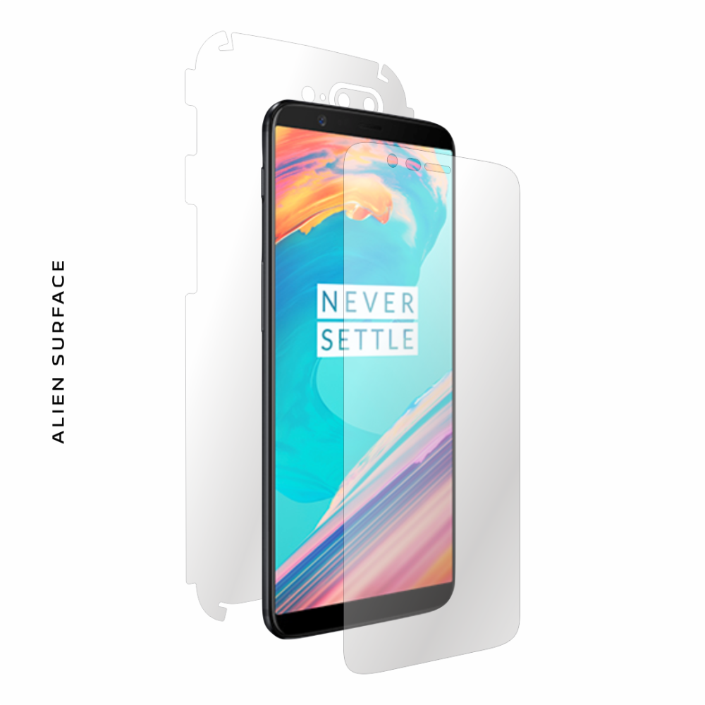 OnePlus 5T folie protectie Alien Surface