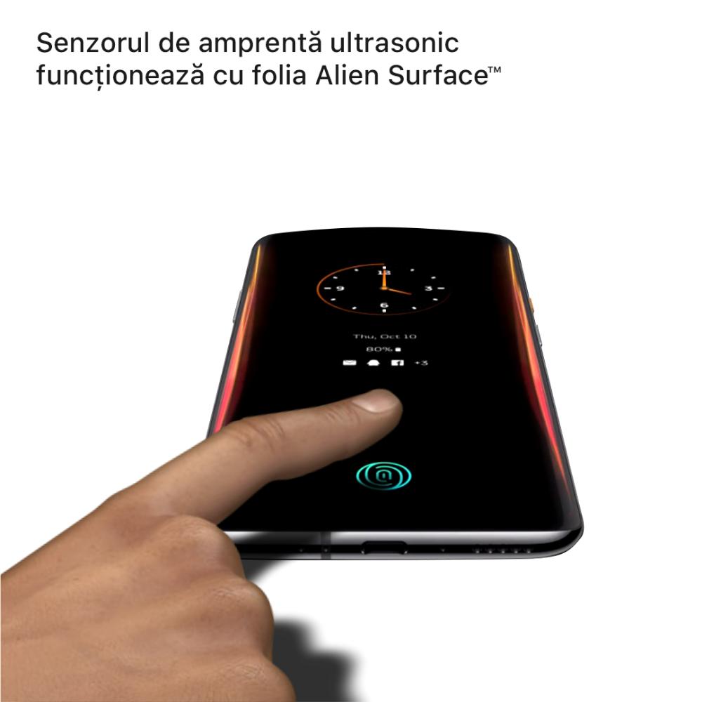 OnePlus 7T Pro 5G McLaren folie protectie Alien Surface