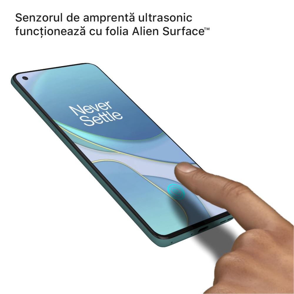 OnePlus 8T folie protectie Alien Surface