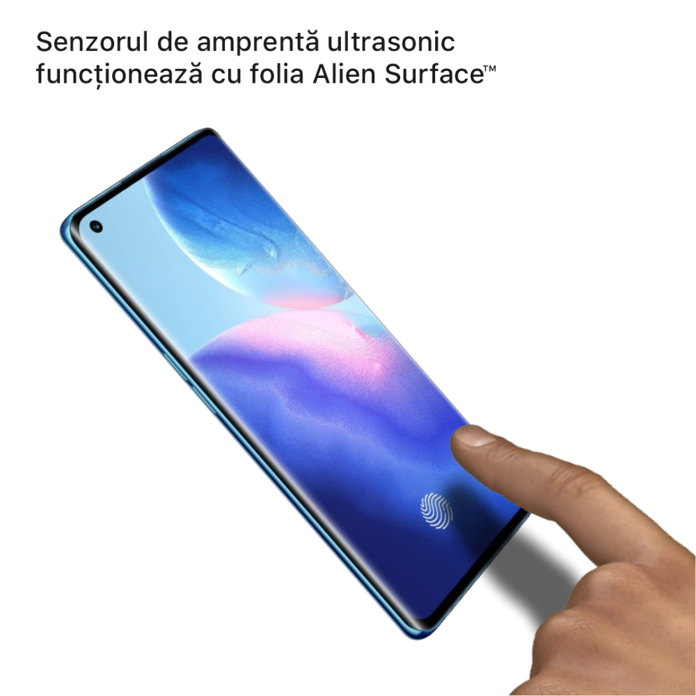 Oppo Reno5 5G folie protectie Alien Surface